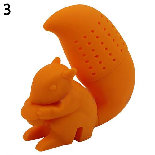 Squirrel Tea Strainer Filter Bag