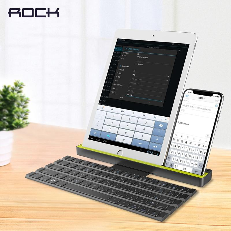 Foldable Bluetooth Keyboard for Apple iPad/iPhone