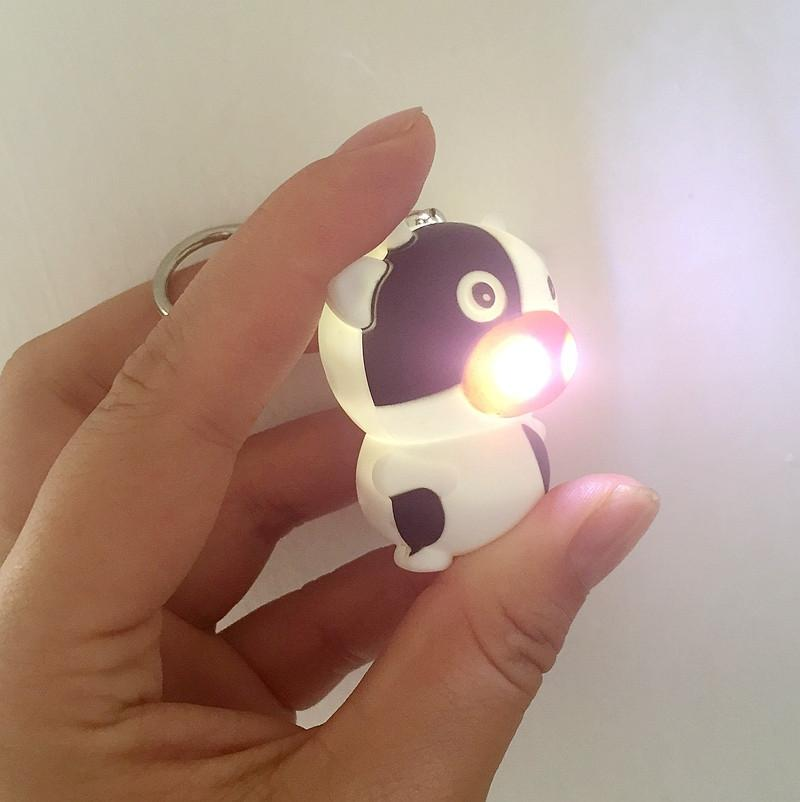 Little Cow LED Keychain