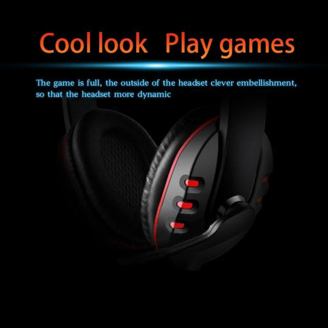 Image of Deep Bass Stereo Gaming Headset with Mic for PC/PS4/Xbox One