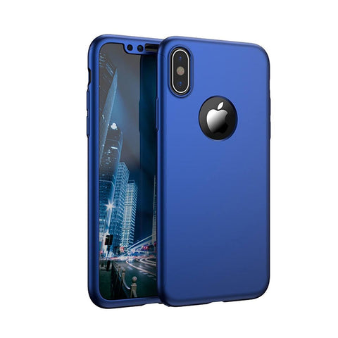 Image of Slim Hybrid Shockproof 360 Case for iPhone