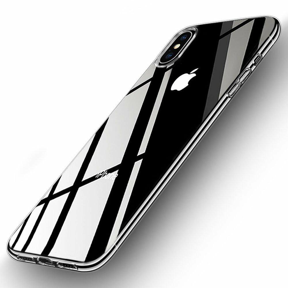 Crystal Clear iPhone X/XS Transparent Slim Case