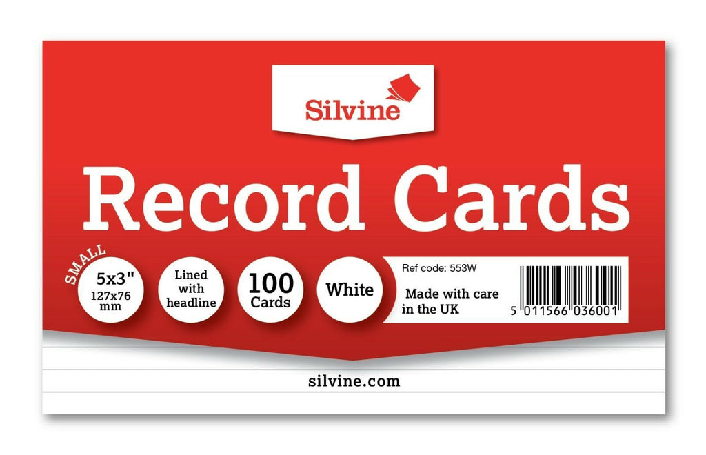 Revision/Flash/Index Record Cards