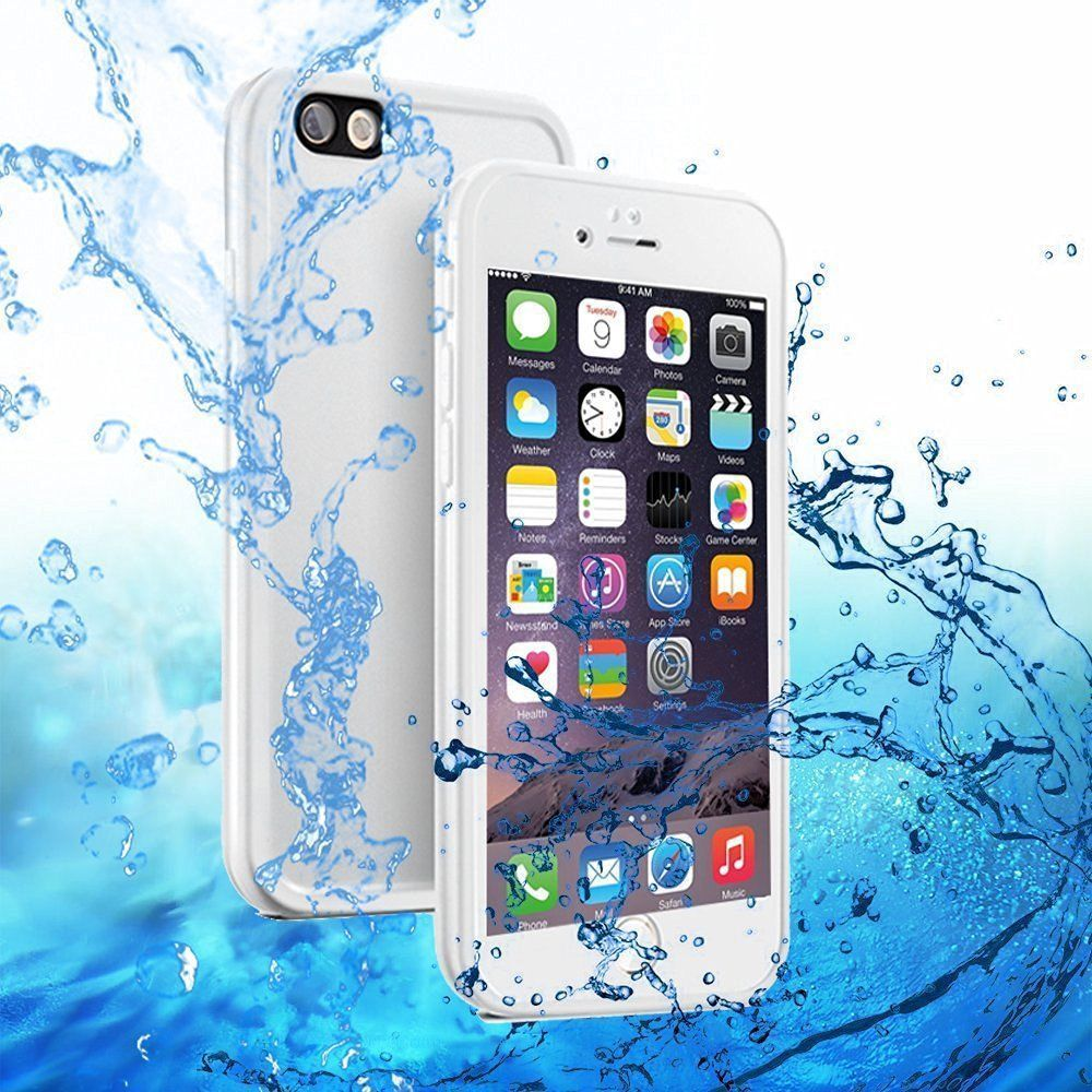 Waterproof 360° Rubber Case for iPhone