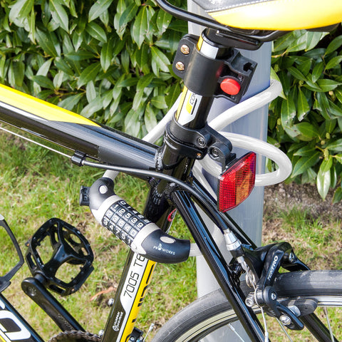 Image of Strong Security Combination Bicycle Lock