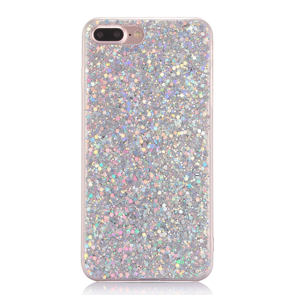 Sparkly Glitter iPhone Case - Soft Silicone Cover