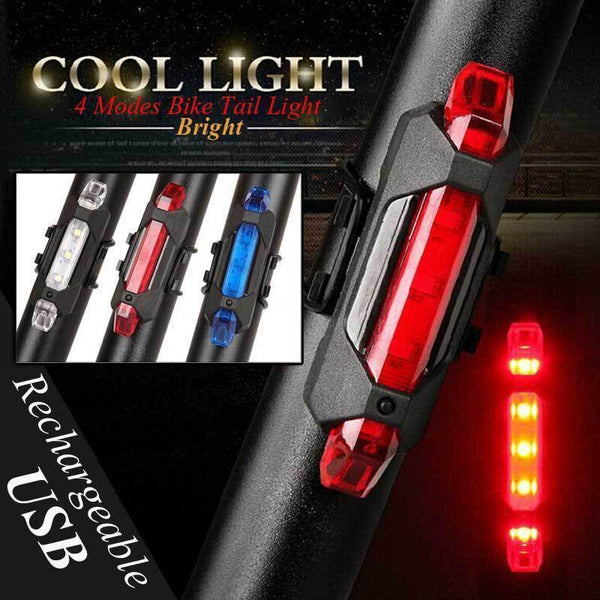 safety rechargeable LED bike light