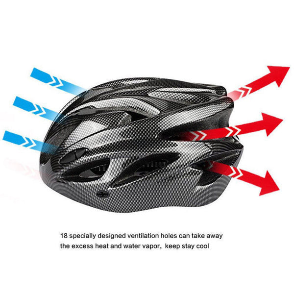 comfortable well ventilated bike helmet