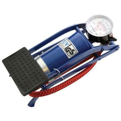 Single Barrel Foot Pump - Cylinder Air Tire Inflator