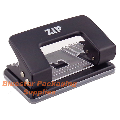 Image of Desk Paper Hole Puncher - 2 Hole 8 Sheet  - Punch Perforator