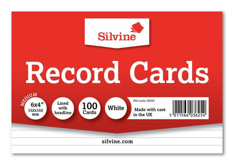 Image of Revision/Flash/Index Record Cards