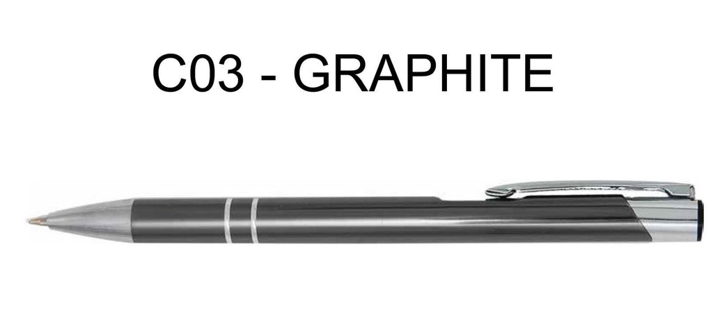 Personalised Engraved Metal Ballpoint Pen