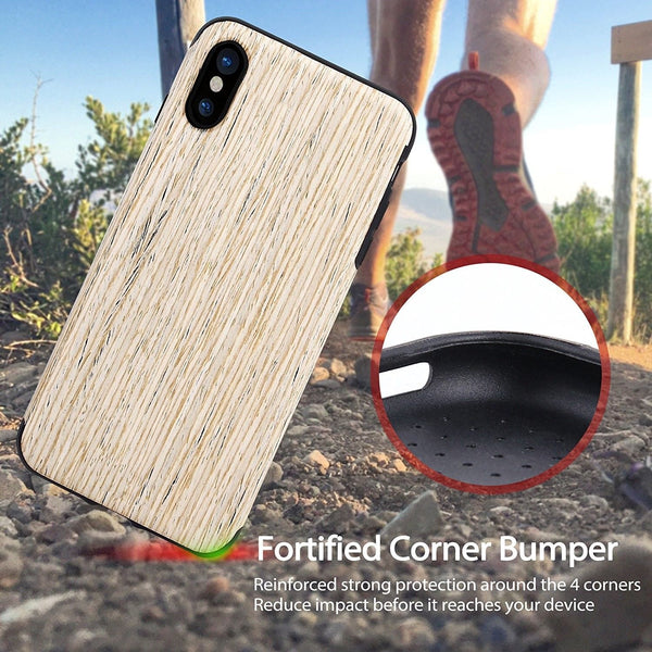 easy fit Wooden Case for iPhone