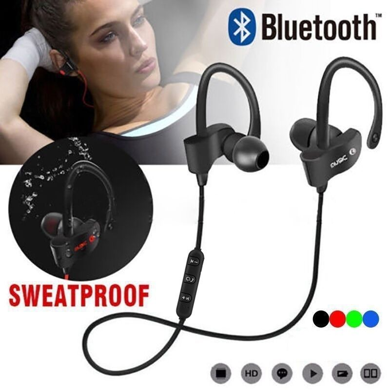 Wireless Bluetooth Waterproof Earphones for Running / Jogging