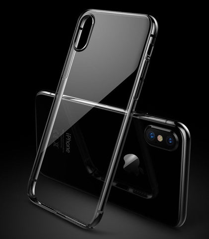 Image of Crystal Clear iPhone X/XS Transparent Slim Case