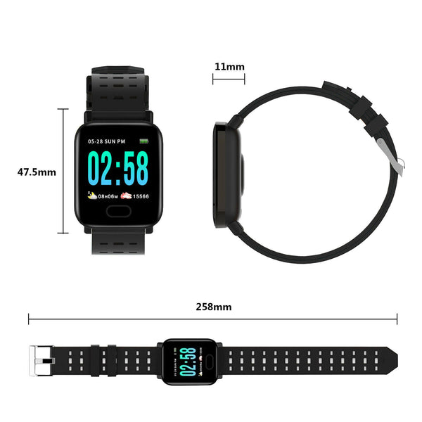Mfitness smartwatch for android & ios
