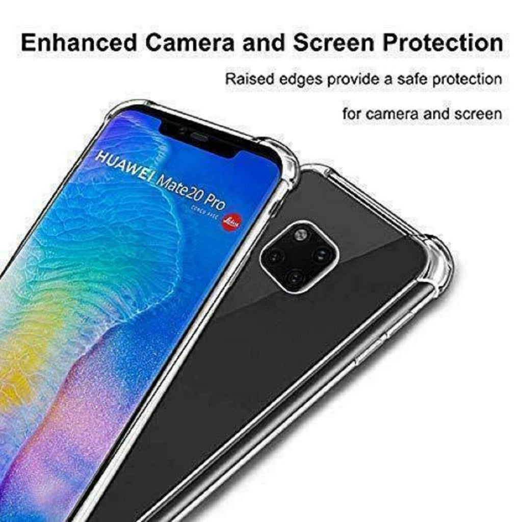 Airbag Case + Tempered Glass Screen Film For Honor 9 Lite 10 Lite 8A 8X Honor 20