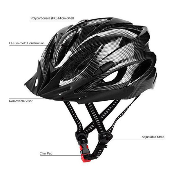 Durable bike helmet