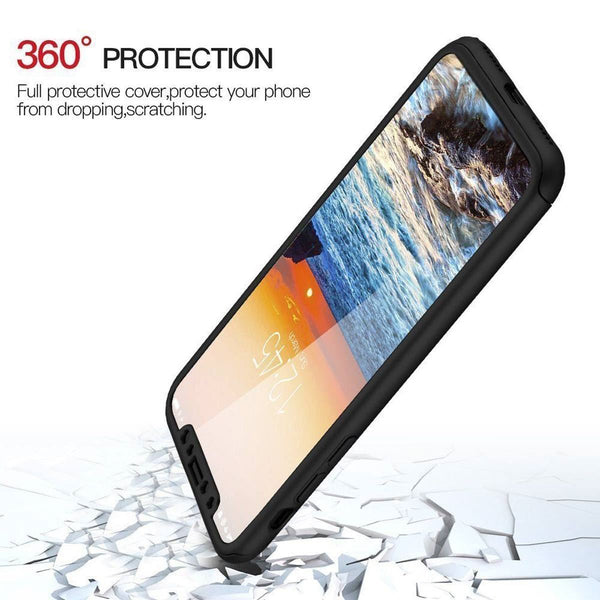Ultra Thin Hybrid 360 iPhone Case