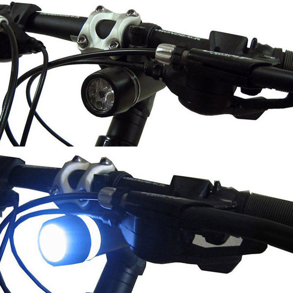 mountain bike front and rear led light