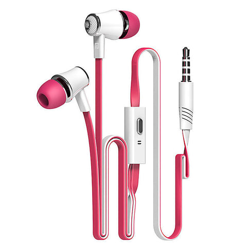 Image of 3.5mm Earphones with Microphone - Super Bass Headphones for iPhone, Samsung, Google Pixel and more