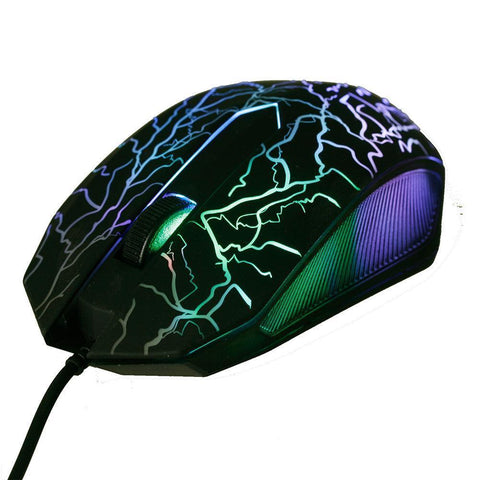 Image of LED Optical Wired Gaming Mouse