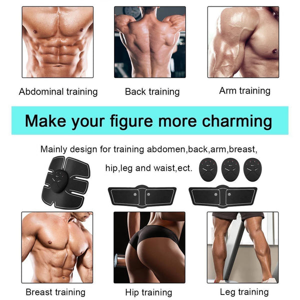 3in1 Muscle Toning Fitness Stimulator Kit