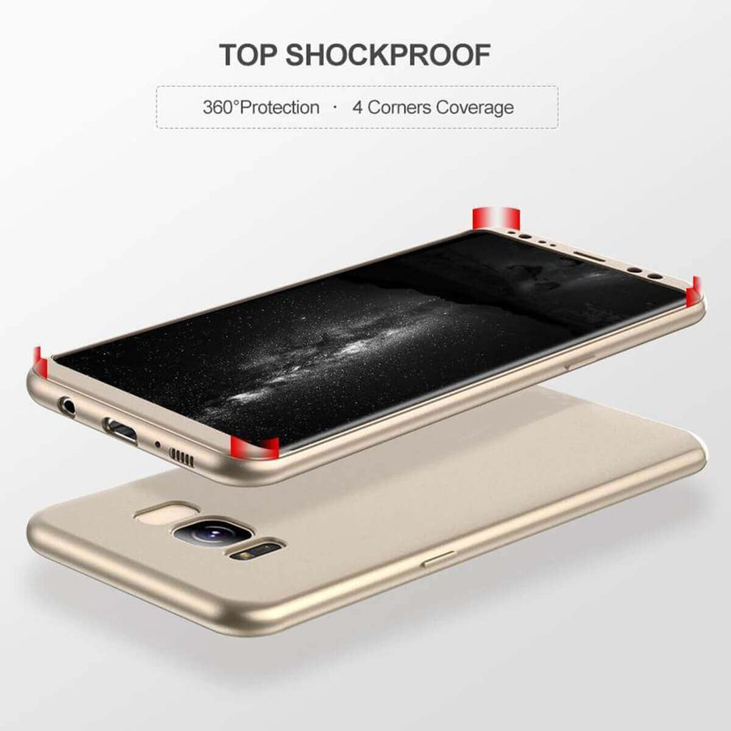 Thin Hybrid Shockproof Case For Samsung Galaxy S7 edge S8 S9 +