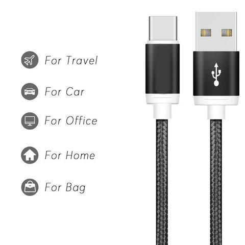 Image of Samsung Fast Charging Cable Type C USB-C for Samsung Galaxy