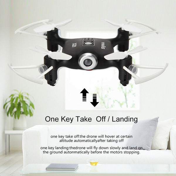 drone with one key take off and landing