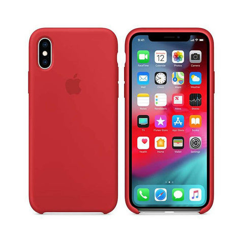 Image of Apple Genuine Silicone Case for iPhone X XR XS MAX 8 7