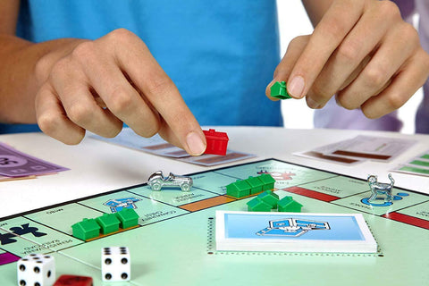 Image of Hasbro USA Edition Monopoly Game With Limited Edition Speed Die