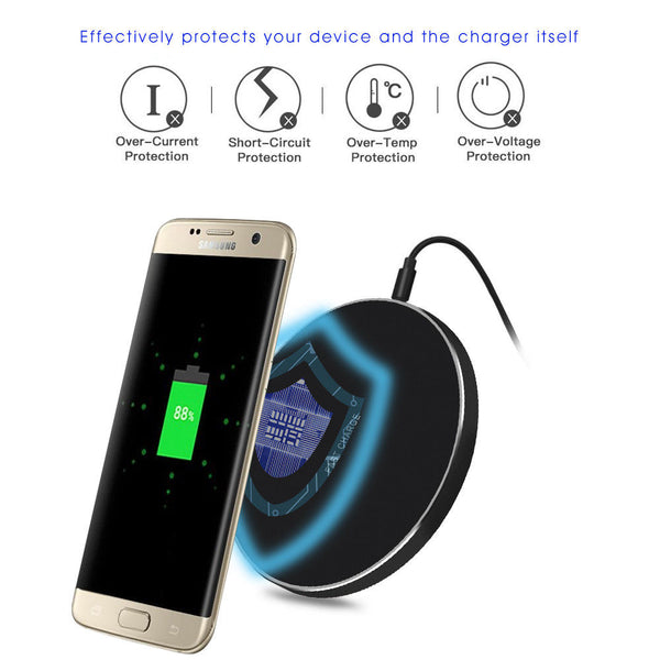 safety mechanism to prevent over charging