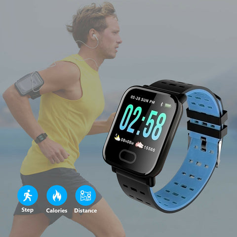 Image of Sports Waterproof Fitness Smartwatch for IOS / Android