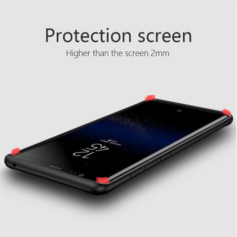 Image of Shockproof Rugged Bumper Clear Case for Samsung Galaxy S8 S9 Plus