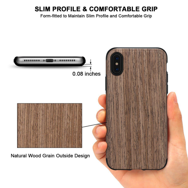 slim Wooden Case for iPhone