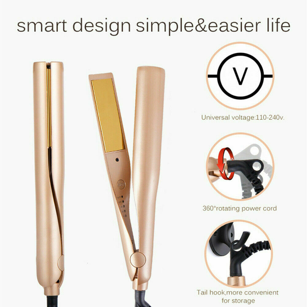 2 In 1 Hair Curler / Straightener for Curling Straightening Hair