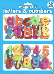 Magnetic Learning Toy Alphabet Letters & Numbers - Stick on Fridgefor Kids