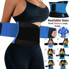 Sport Waist Trainer Body Shaper Cincher Tummy Bell Corset Training Girdle Belt