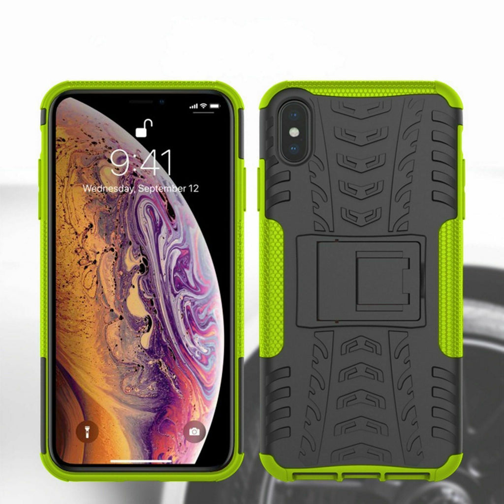 Hybrid Shockproof Heavy Duty Back Case for iPhone 5,6,7,8,X,XR,11