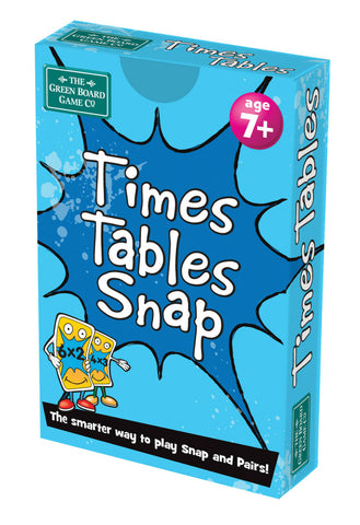 Image of Times Table Snap + Pairs Card Game - BrainBox - KS1 Maths Learning Resource