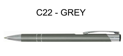 Image of Personalised Engraved Metal Ballpoint Pen