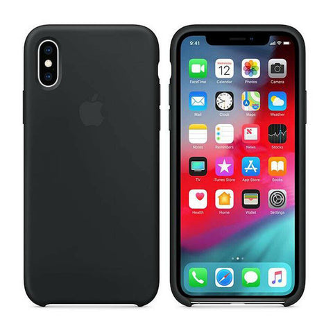 Image of Genuine Silicone Shockproof Rubber Case for iPhone 11 X XR XS MAX 8 7