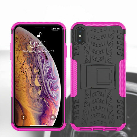 Image of Hybrid Shockproof Heavy Duty Back Case for iPhone 5,6,7,8,X,XR,11
