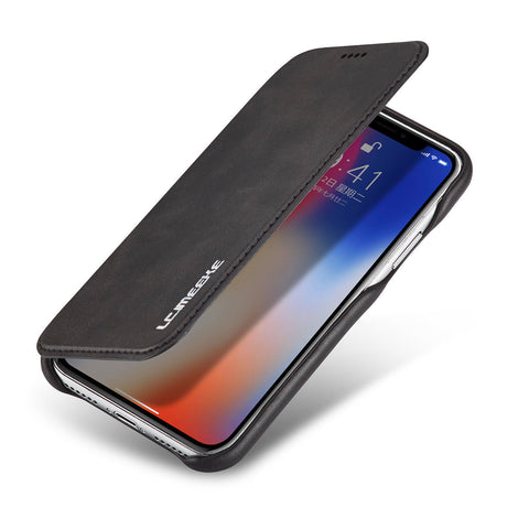 Image of Ultra Thin Leather Wallet Stand Flip Case For iPhone 6 7 Plus 8 X