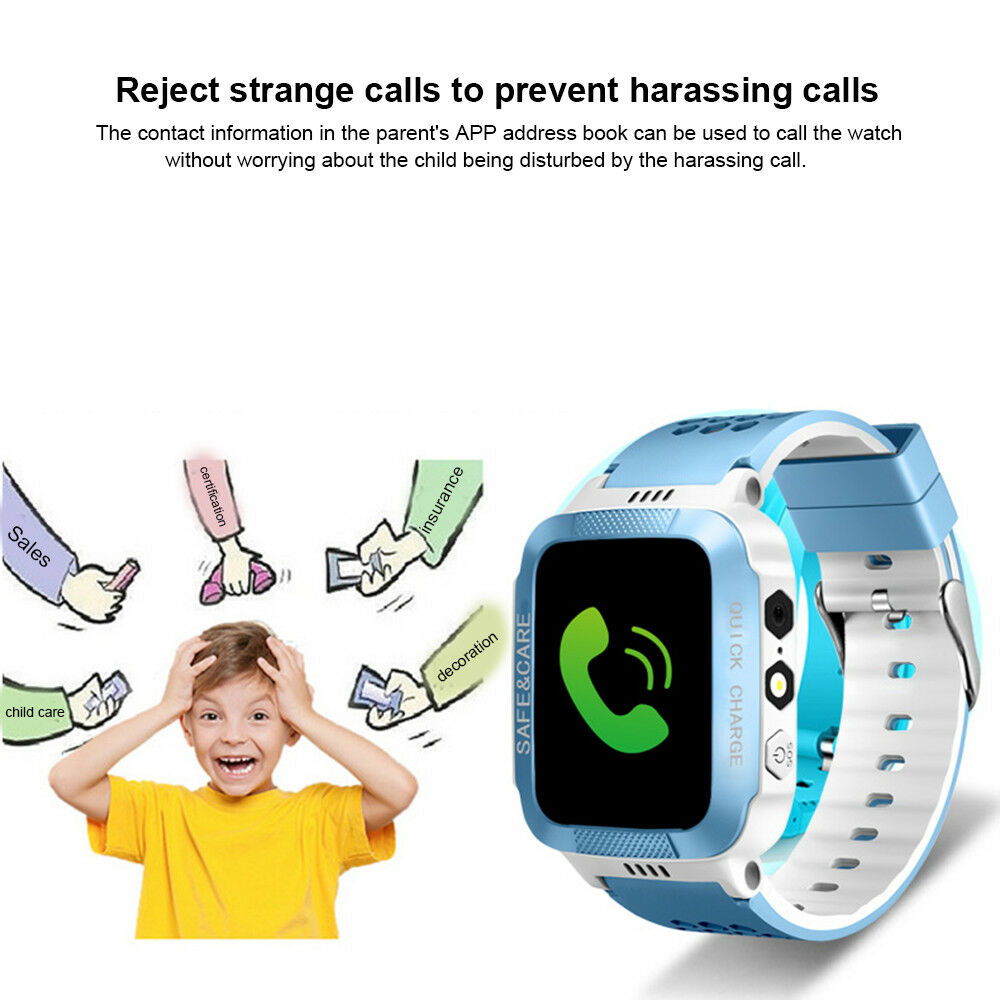Smart Watch with GPS Locator / Tracker for Kids