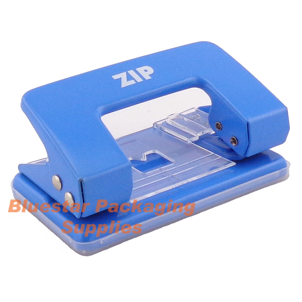Desk Paper Hole Puncher - 2 Hole 8 Sheet  - Punch Perforator