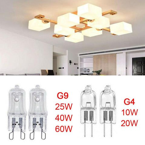 Image of G9 Light Bulb 25W 40W 60W Dimmable Capsule x 10