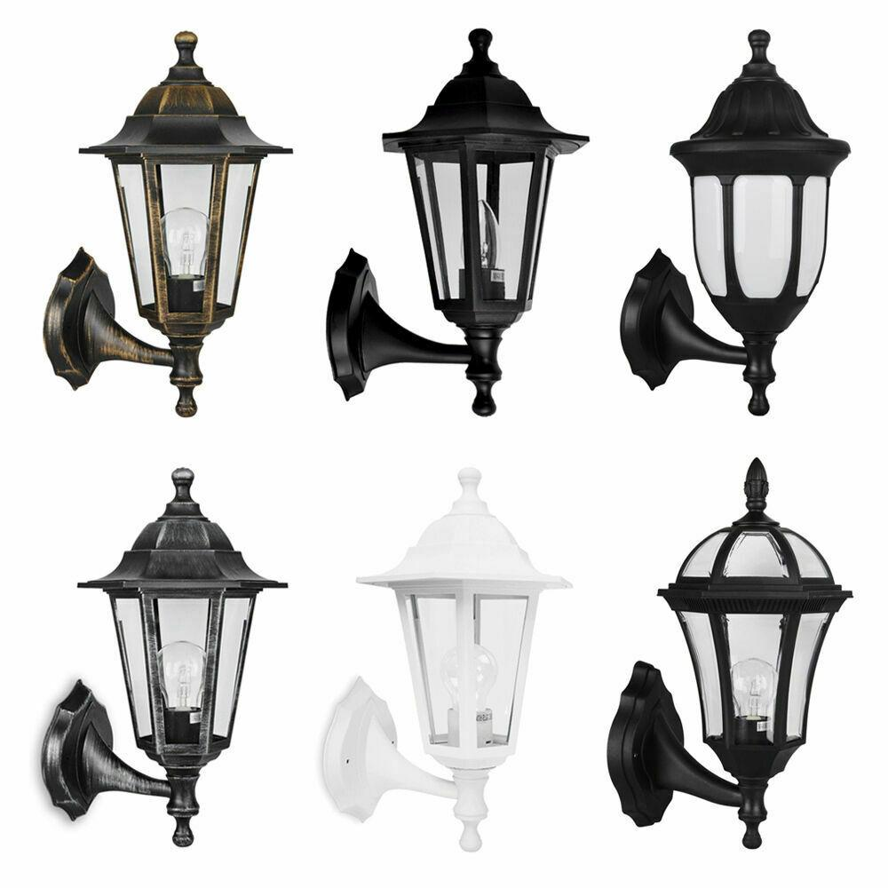Traditional Outdoor Garden Wall Light Lantern Coach Lighting Vintage IP44 Lamp