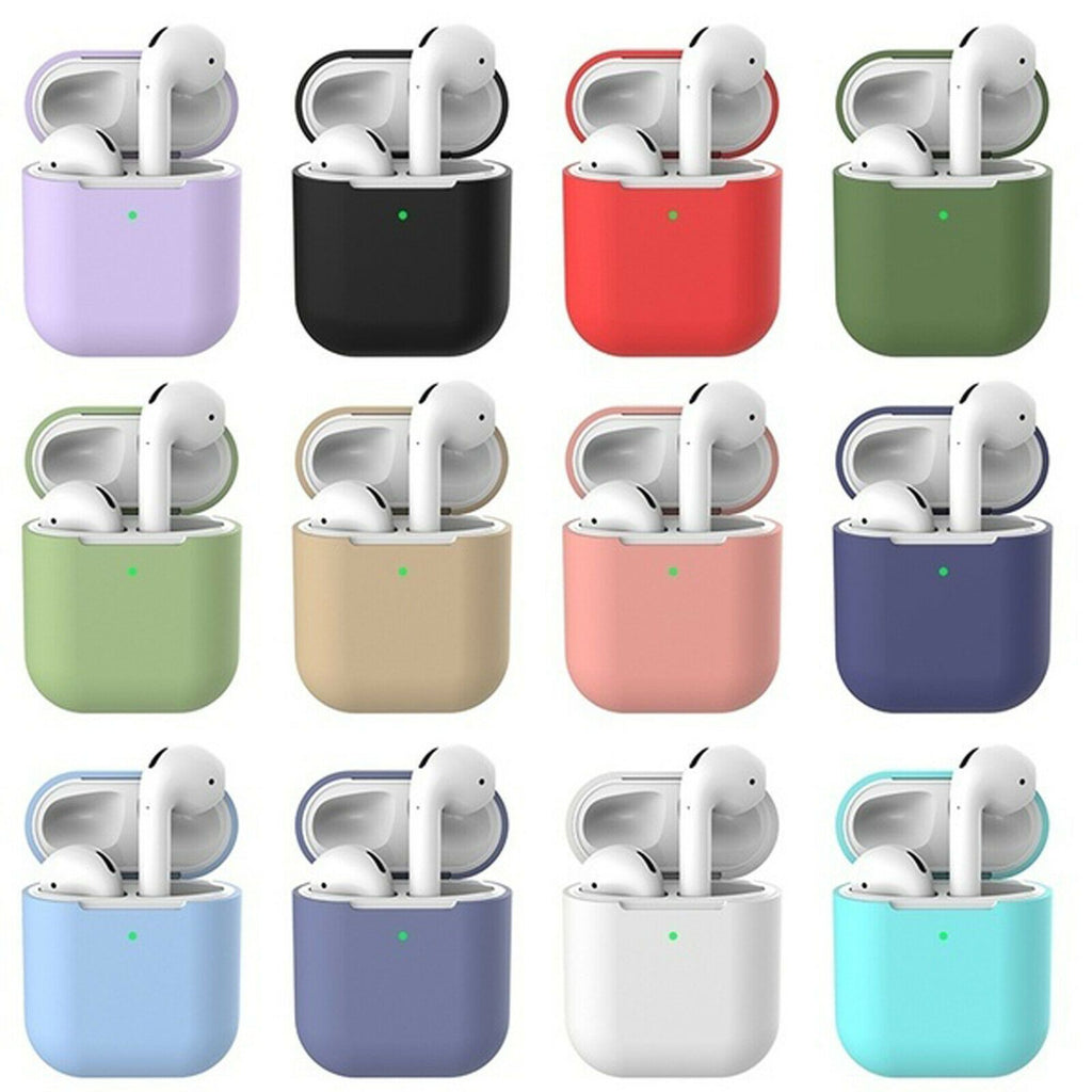 Silicone Soft Skin Case for Airpods 1/2